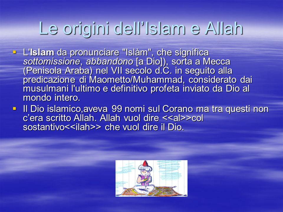 Le origini dell'Islam e Allah