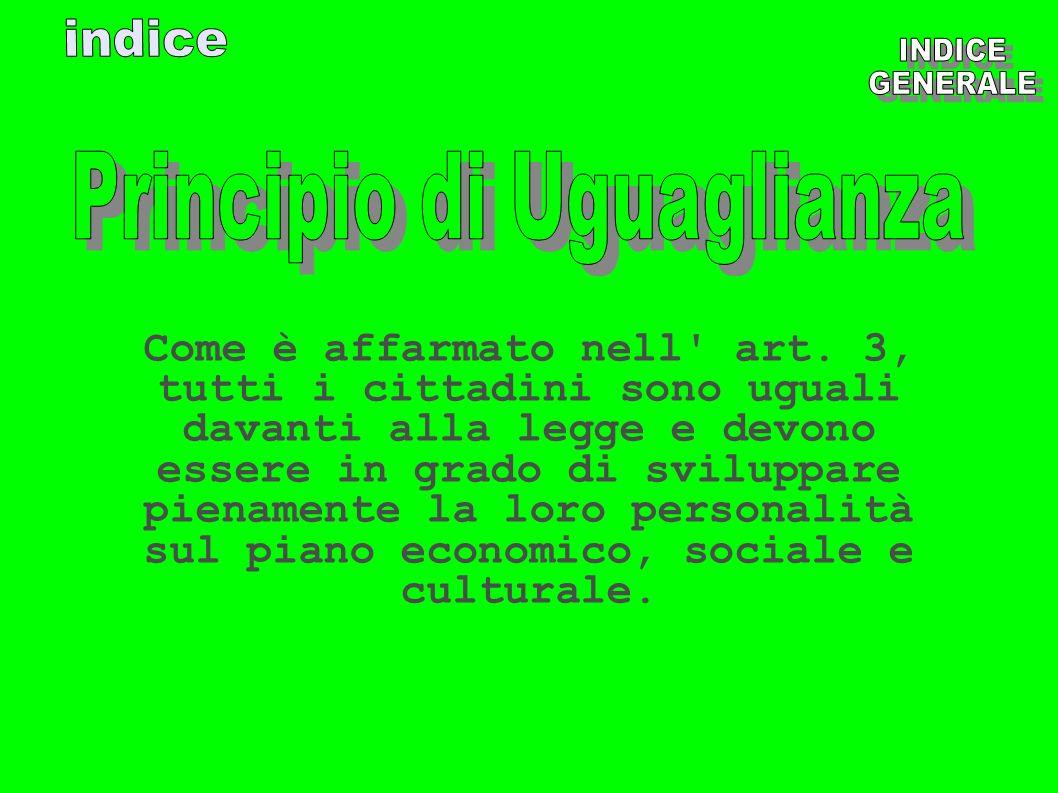 Principio di Uguaglianza