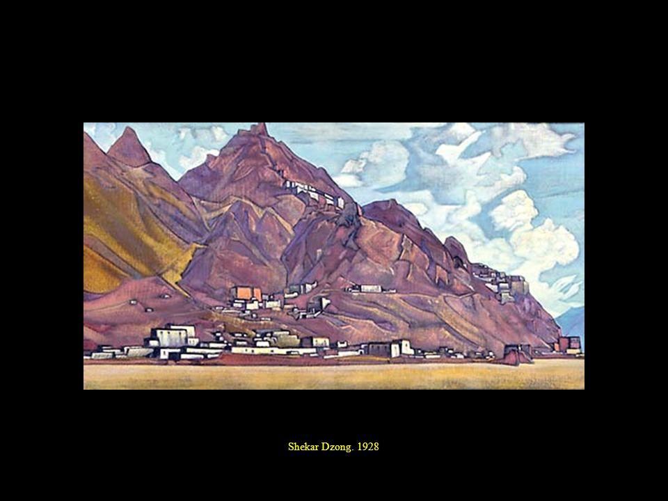 Shekar Dzong. 1928