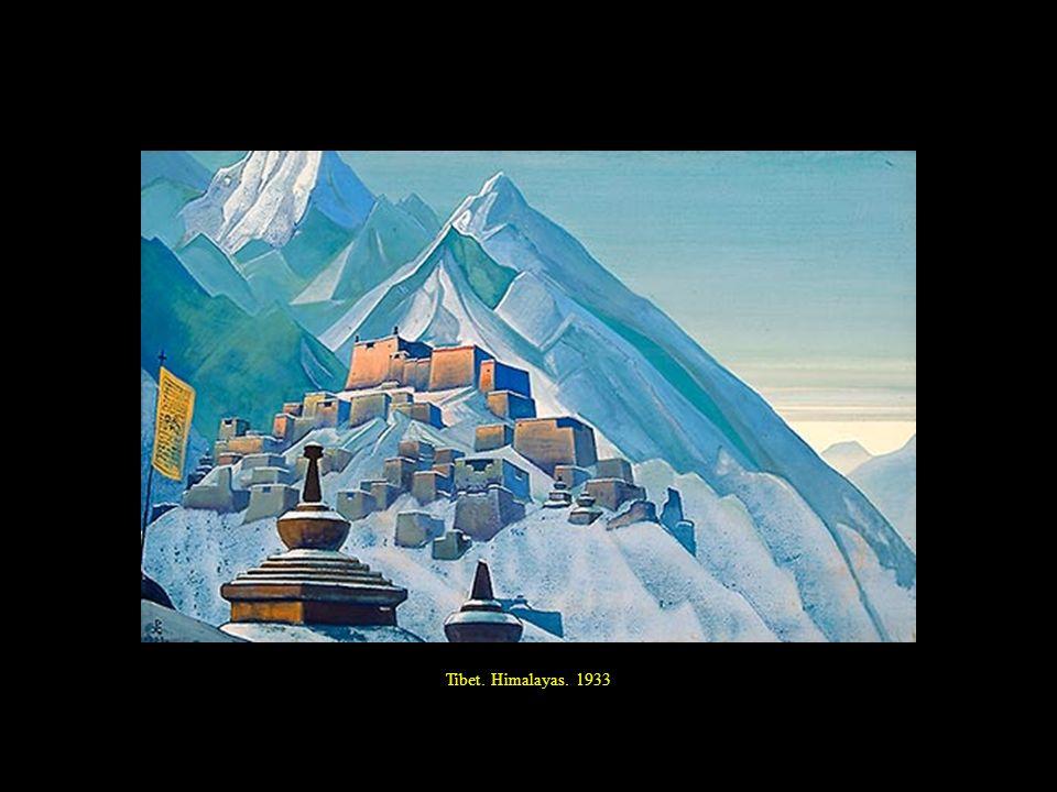 Tibet. Himalayas. 1933