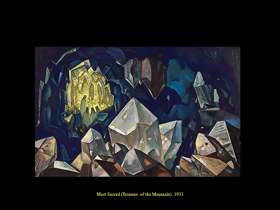 Most Sacred (Treasure of the Mountain). 1933