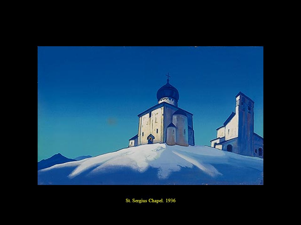 St. Sergius Chapel. 1936
