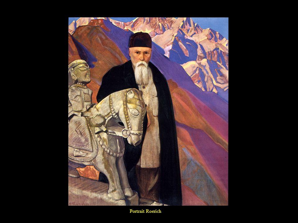Portrait Roerich