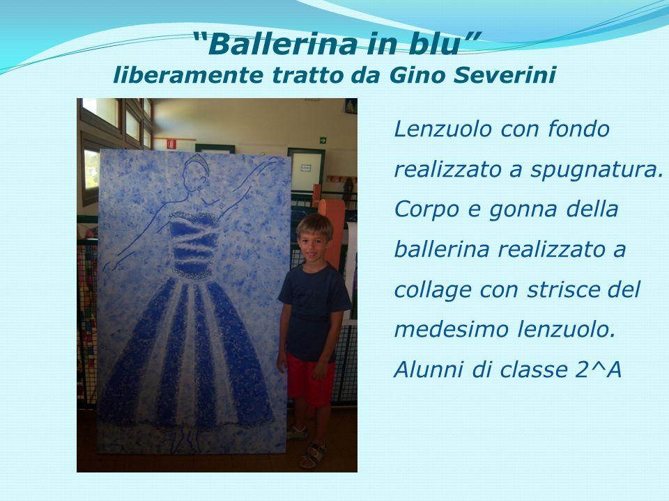 Ballerina in blu liberamente tratto da Gino Severini