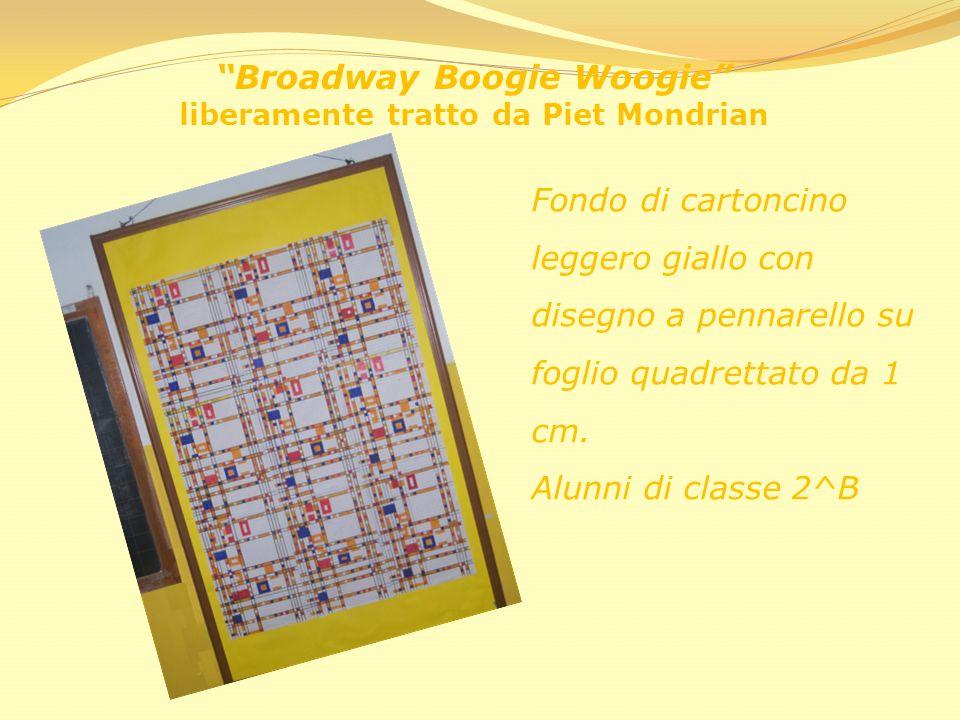 Broadway Boogie Woogie liberamente tratto da Piet Mondrian