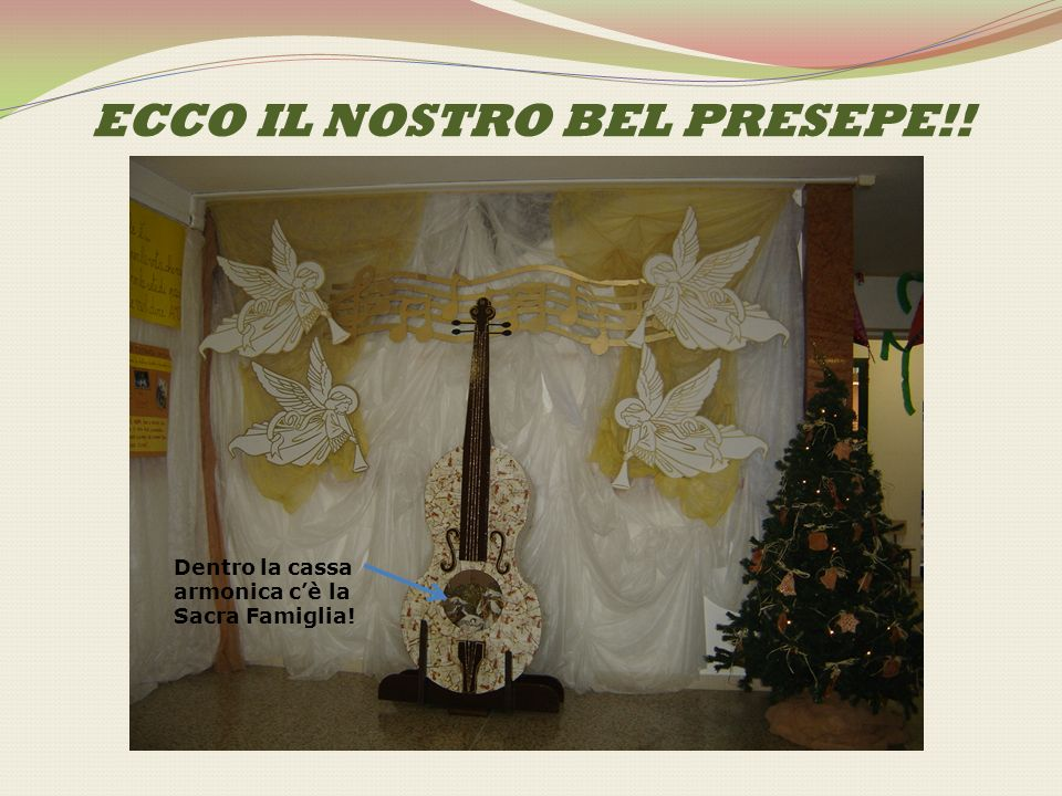 ECCO IL NOSTRO BEL PRESEPE!!