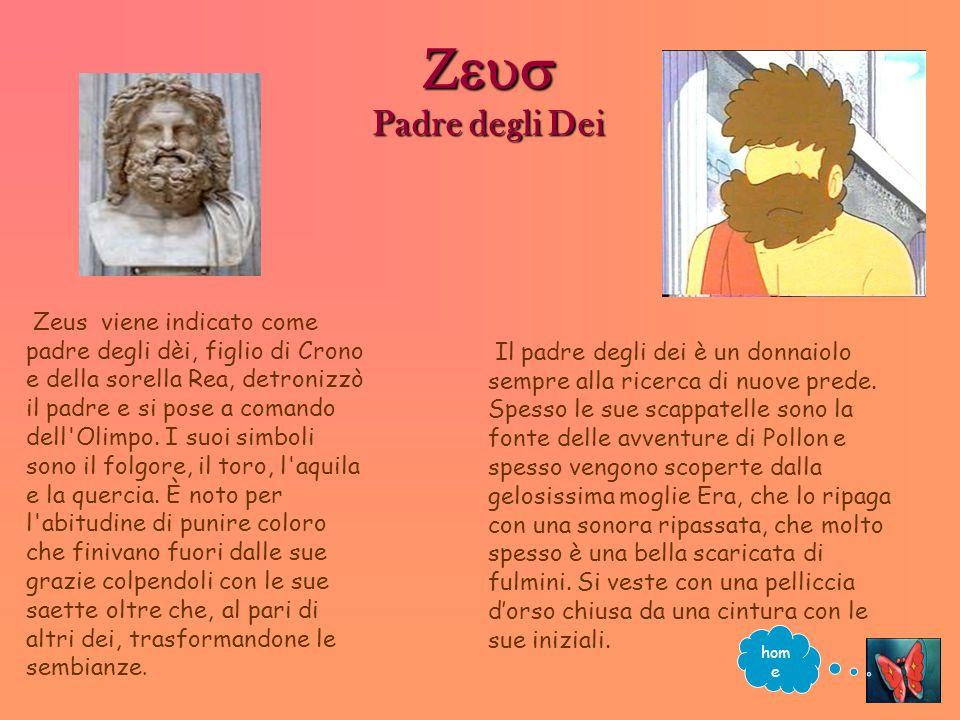 Zeus Padre degli Dei