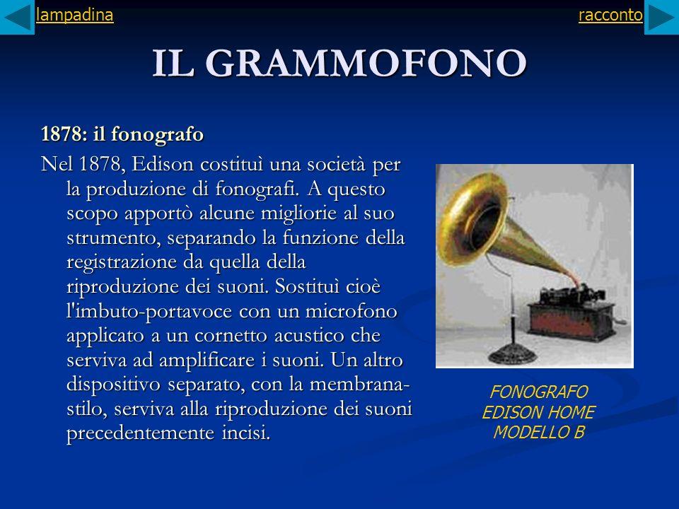 FONOGRAFO EDISON HOME MODELLO B