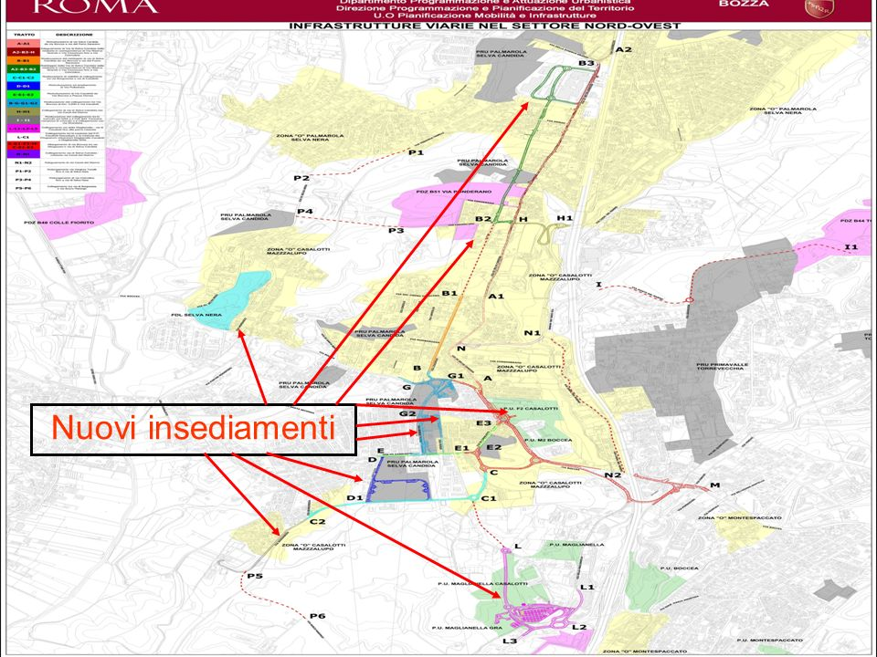 Nuovi insediamenti Nuovi insediamenti