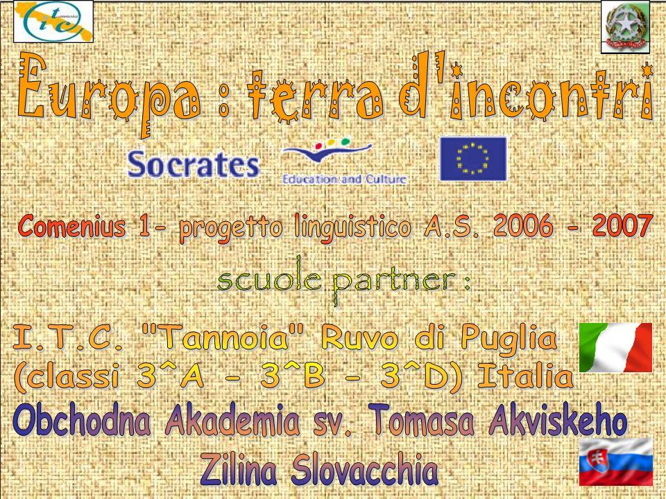scuole partner : Europa : terra d incontri