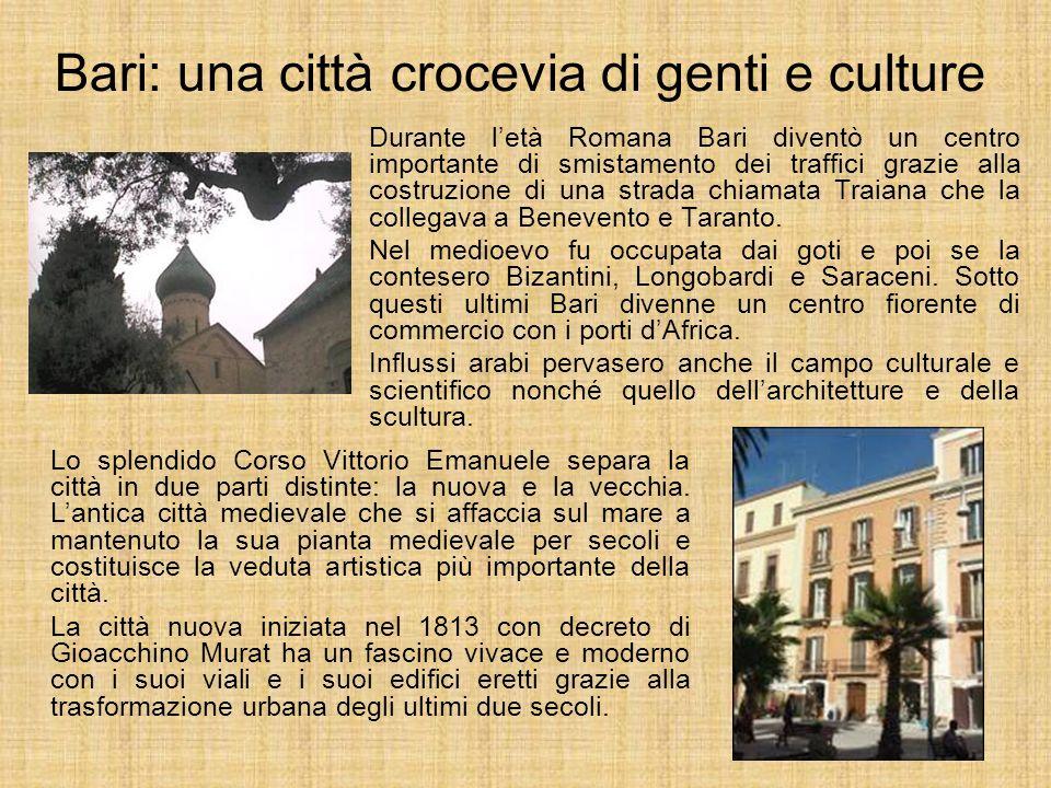 Bari: una città crocevia di genti e culture