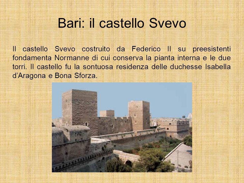 Bari: il castello Svevo