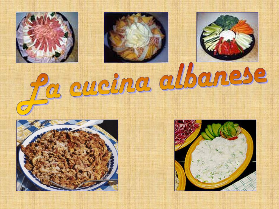 La cucina albanese