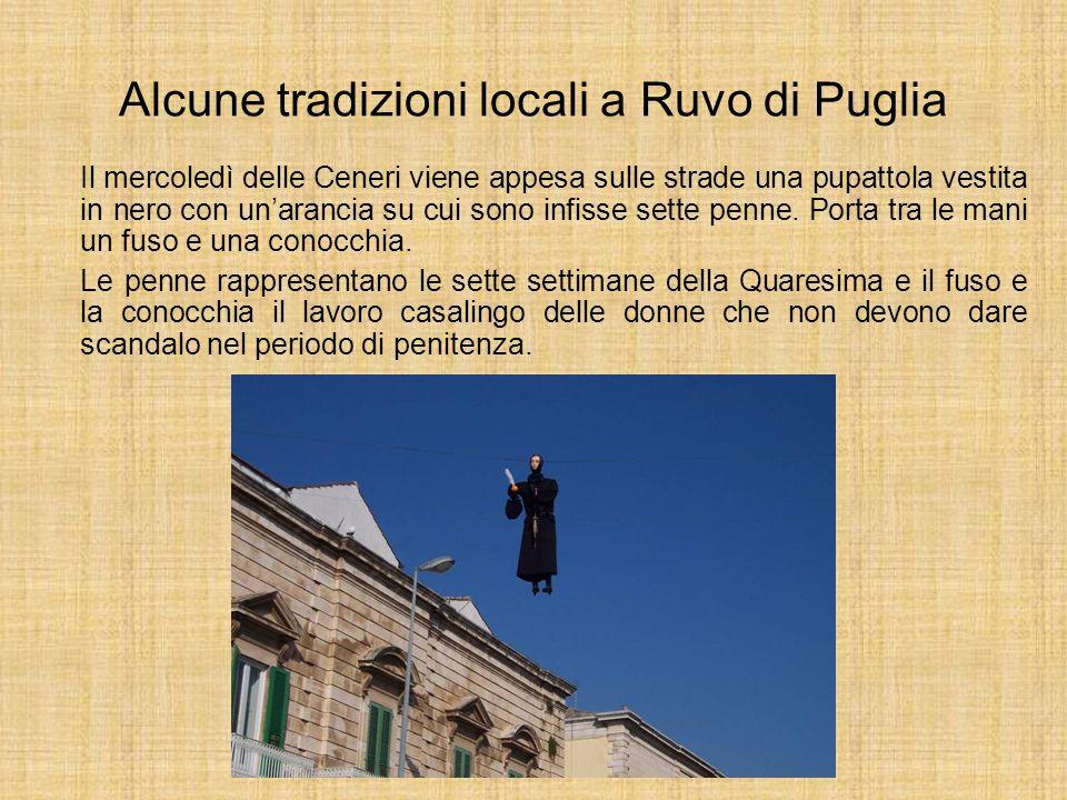 Alcune tradizioni locali a Ruvo di Puglia