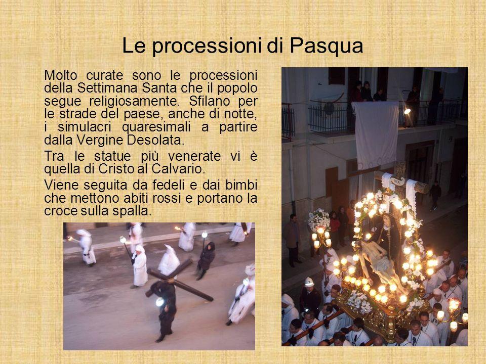 Le processioni di Pasqua