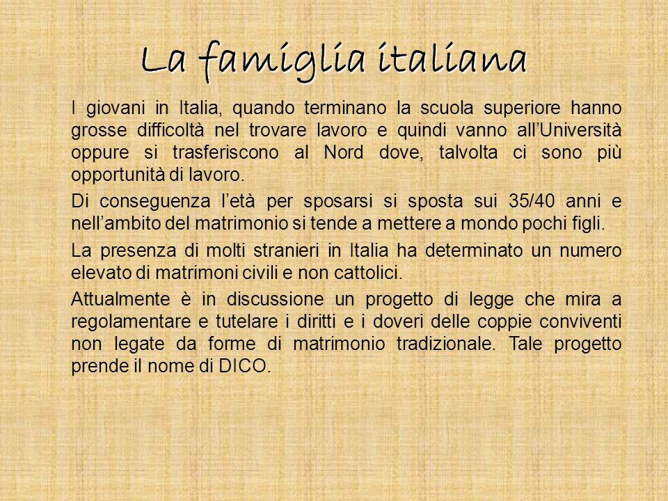 La famiglia italiana