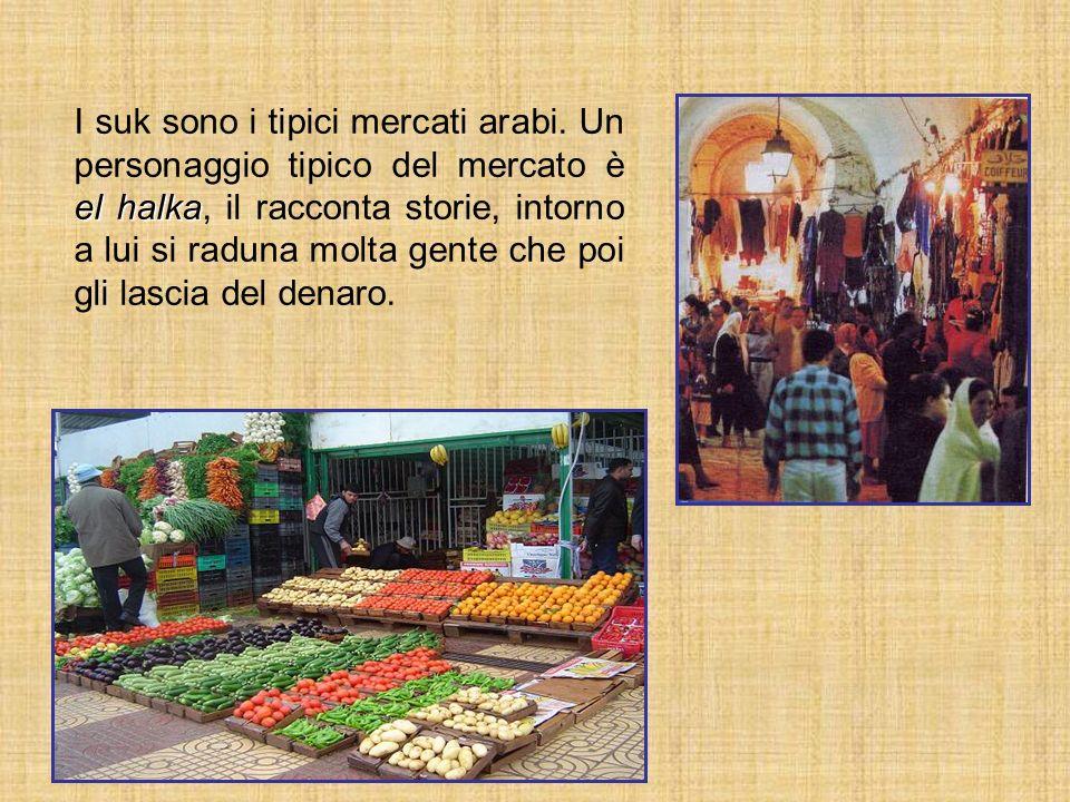 I suk sono i tipici mercati arabi