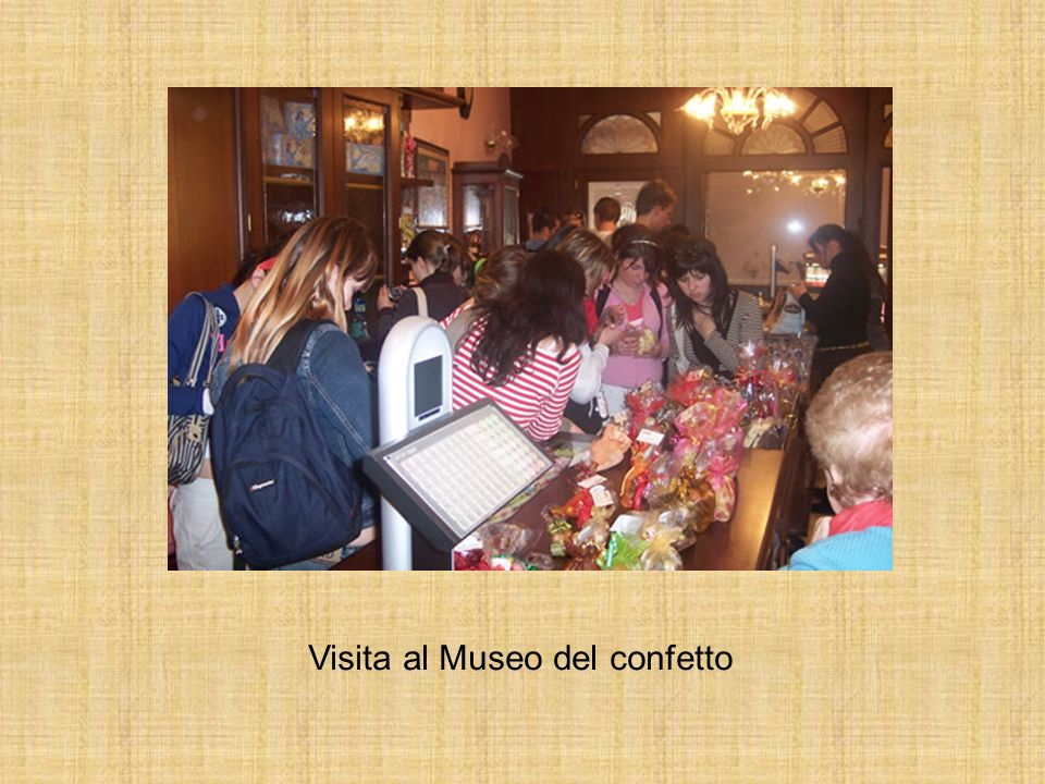Visita al Museo del confetto