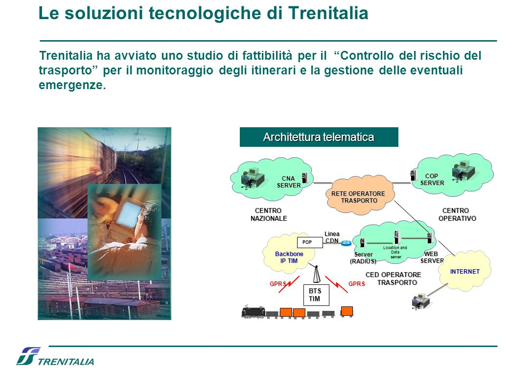 Le soluzioni tecnologiche di Trenitalia