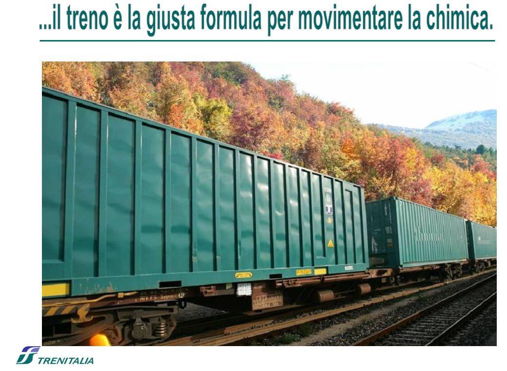 ...il treno è la giusta formula per movimentare la chimica.