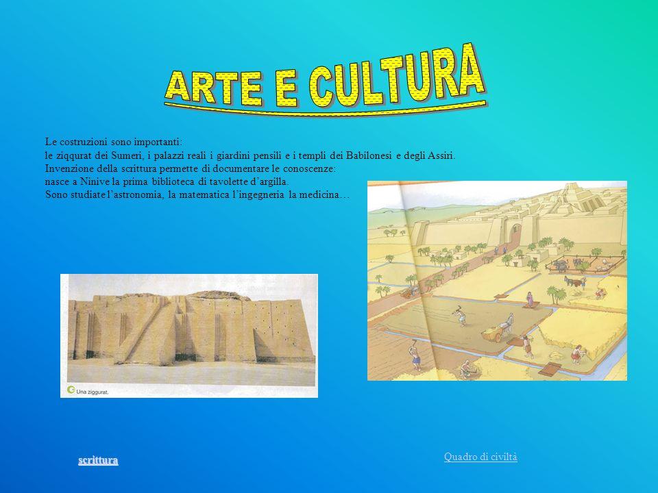 ARTE E CULTURA Le costruzioni sono importanti: