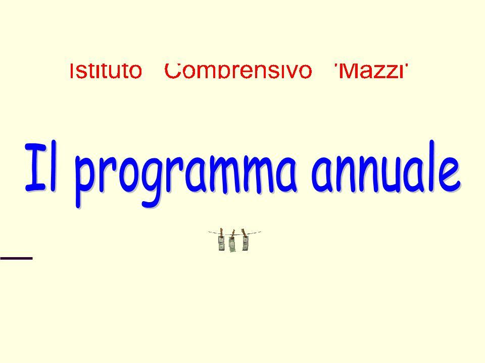 Il programma annuale