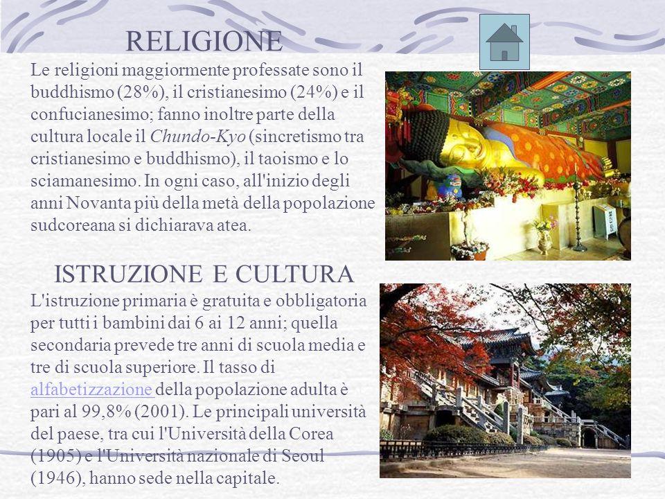 RELIGIONE ISTRUZIONE E CULTURA