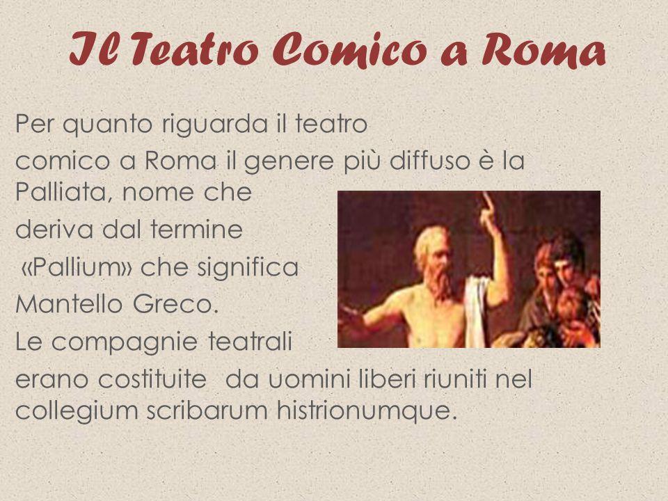 Il Teatro Comico a Roma