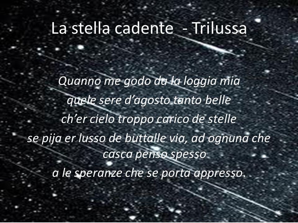 La stella cadente - Trilussa