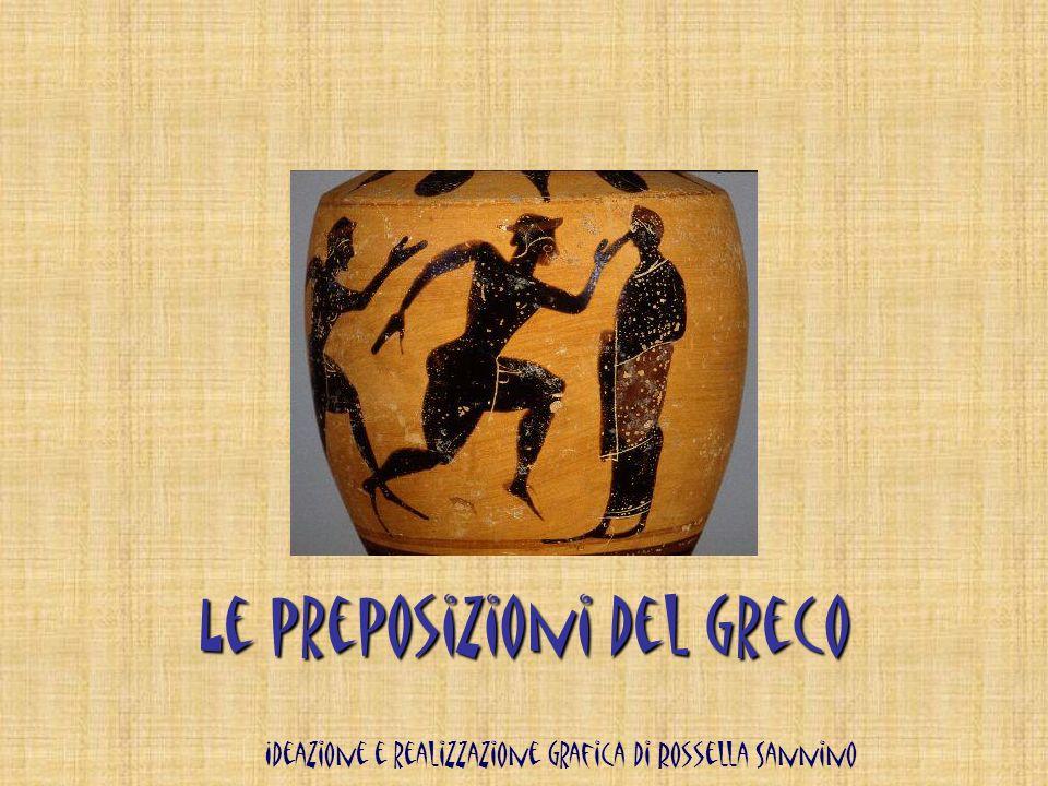 Le preposizioni del greco