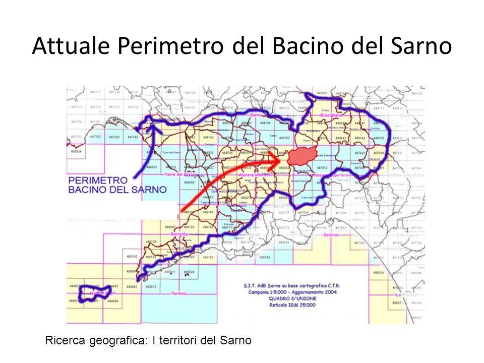 Attuale Perimetro del Bacino del Sarno
