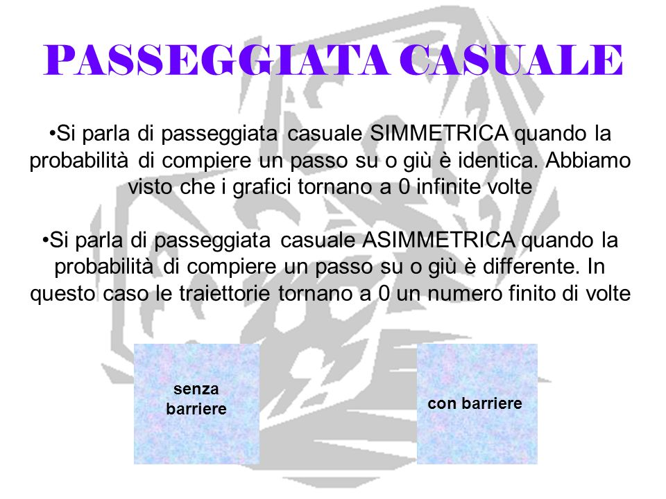 PASSEGGIATA CASUALE