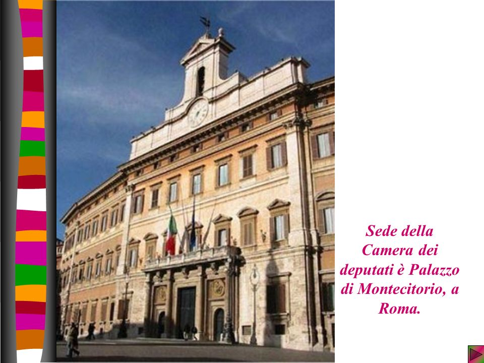 La classe v a alla scoperta dello stato presenta ppt for Camera dei deputati roma