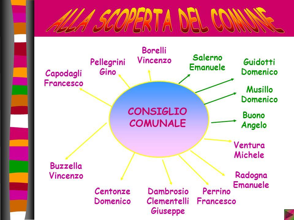 ALLA SCOPERTA DEL COMUNE Dambrosio Clementelli Giuseppe