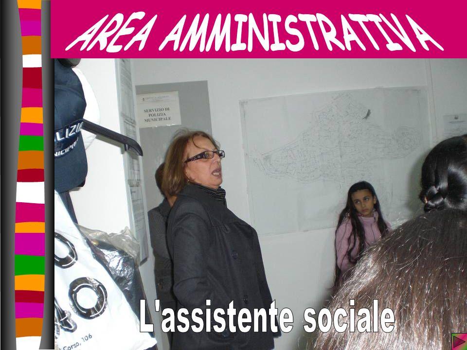 AREA AMMINISTRATIVA L assistente sociale