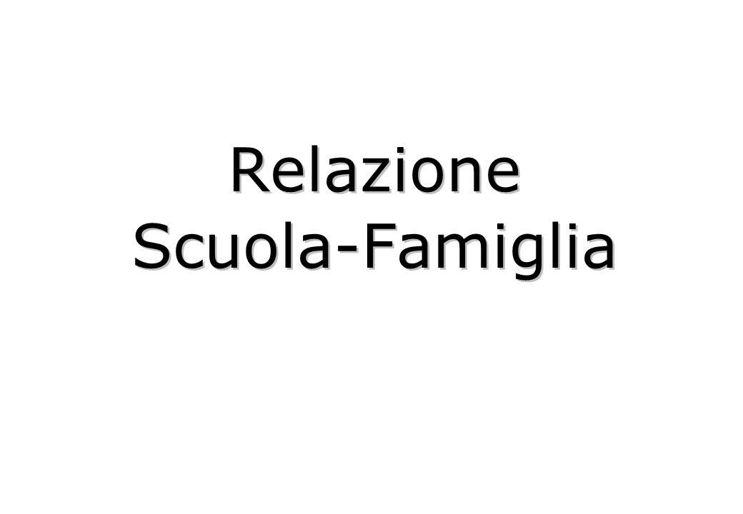 Relazione Scuola-Famiglia