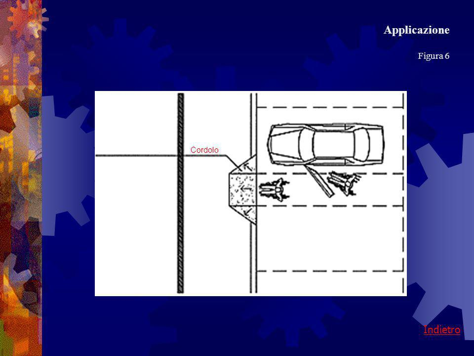 Applicazione Figura 6 Cordolo Indietro