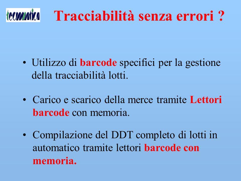 Tracciabilità senza errori