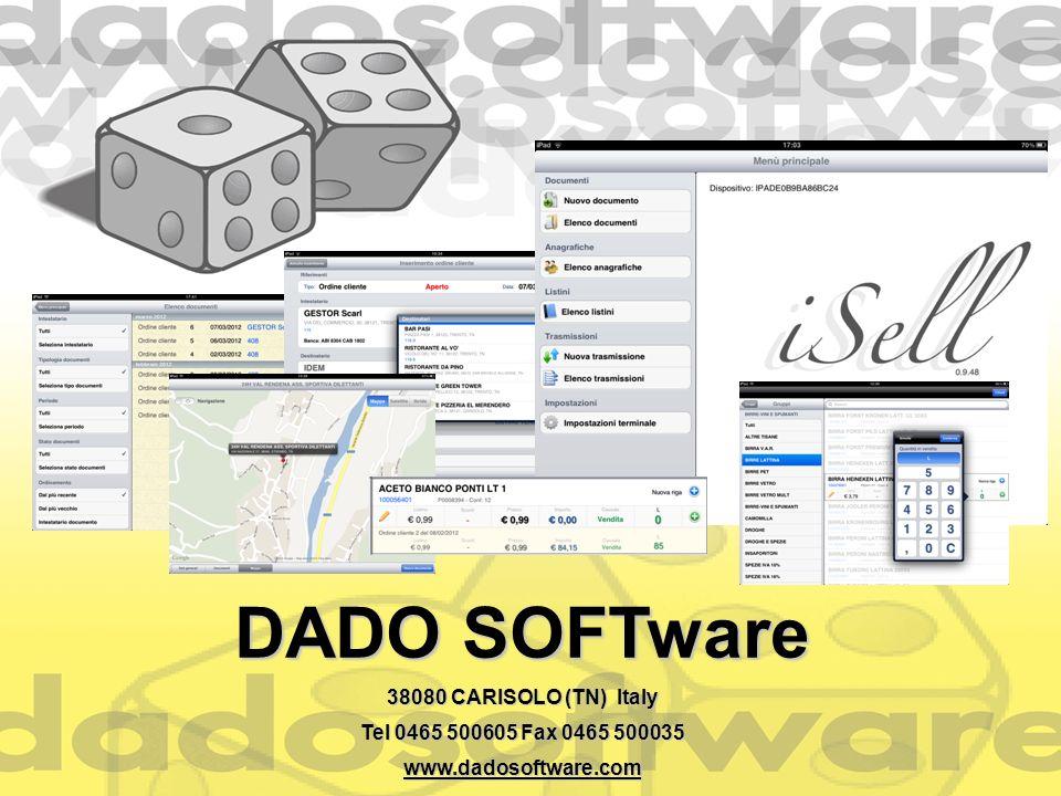 DADO SOFTware 38080 CARISOLO (TN) Italy