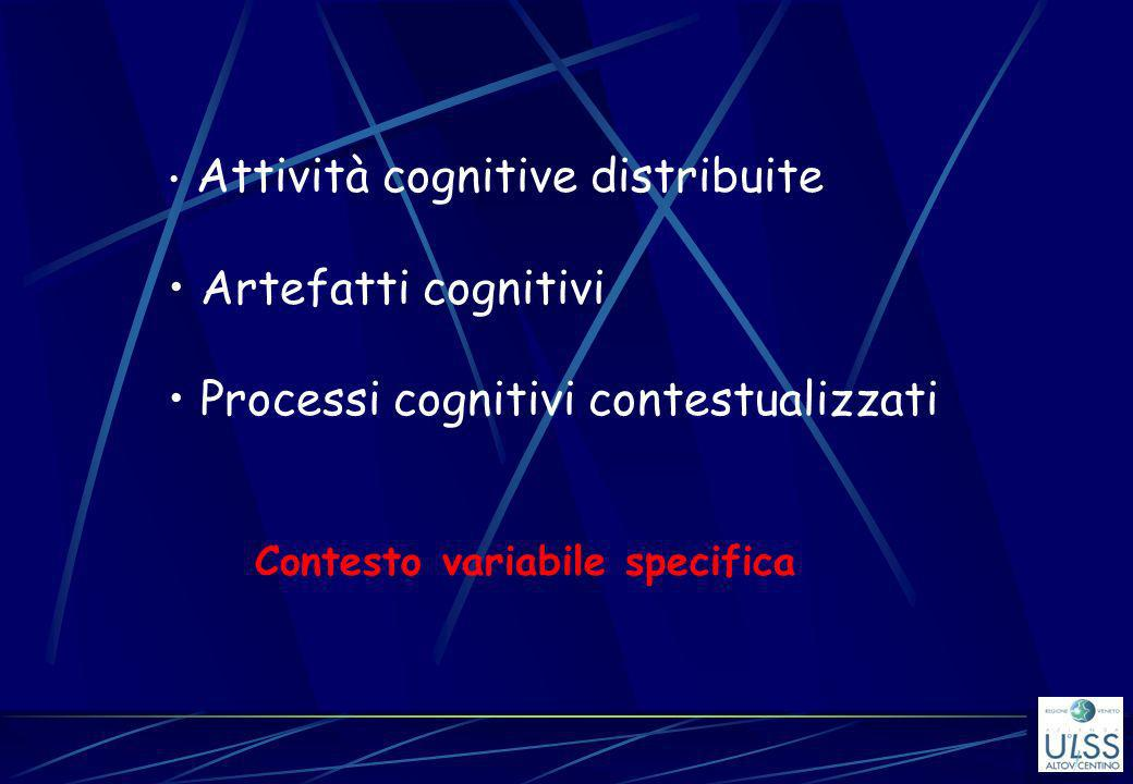 Processi cognitivi contestualizzati