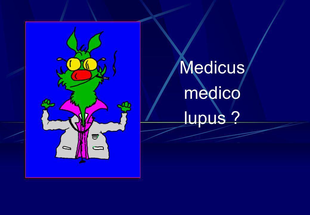 Medicus medico lupus