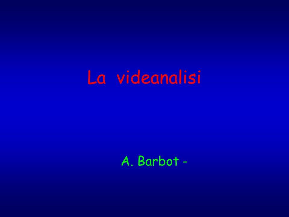 La videanalisi A. Barbot -