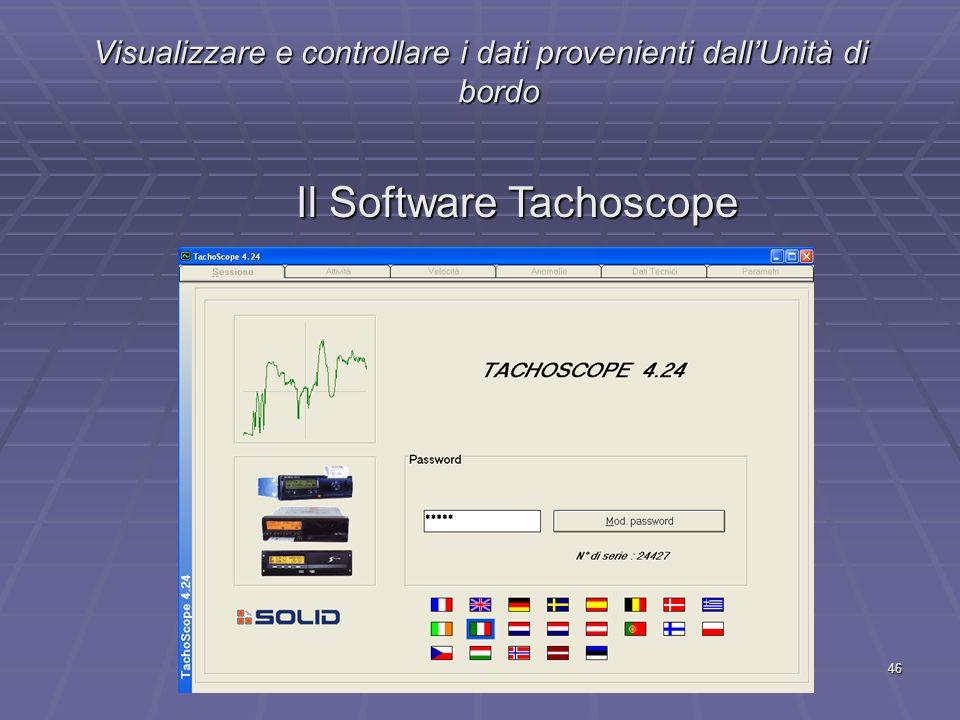 Il Software Tachoscope