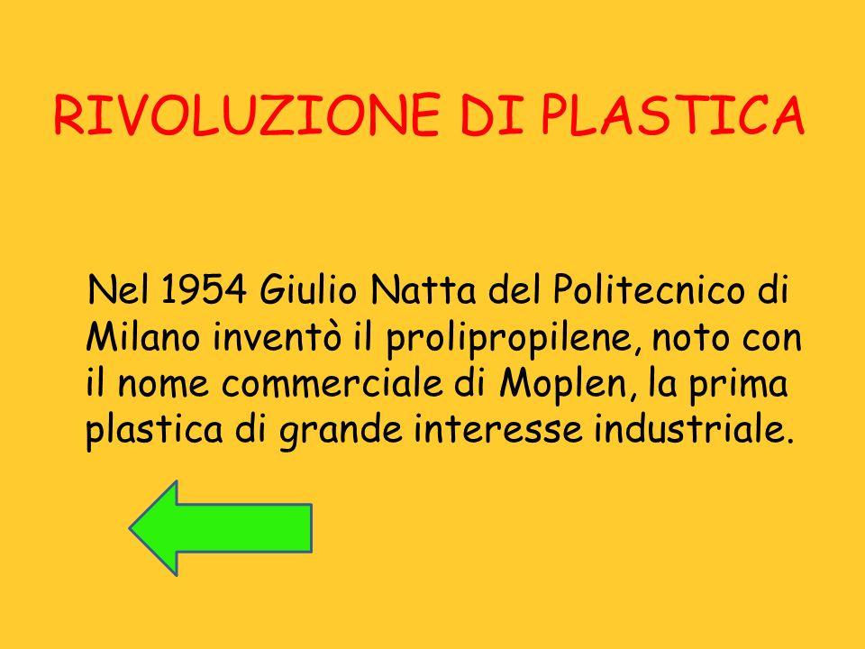 RIVOLUZIONE DI PLASTICA