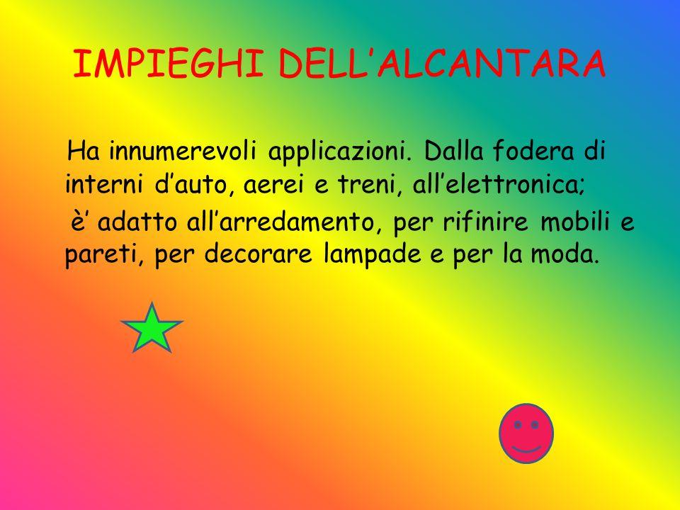 IMPIEGHI DELL'ALCANTARA