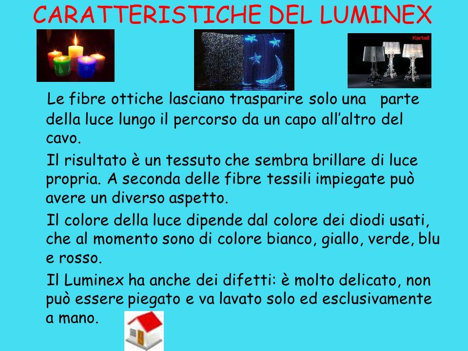 CARATTERISTICHE DEL LUMINEX