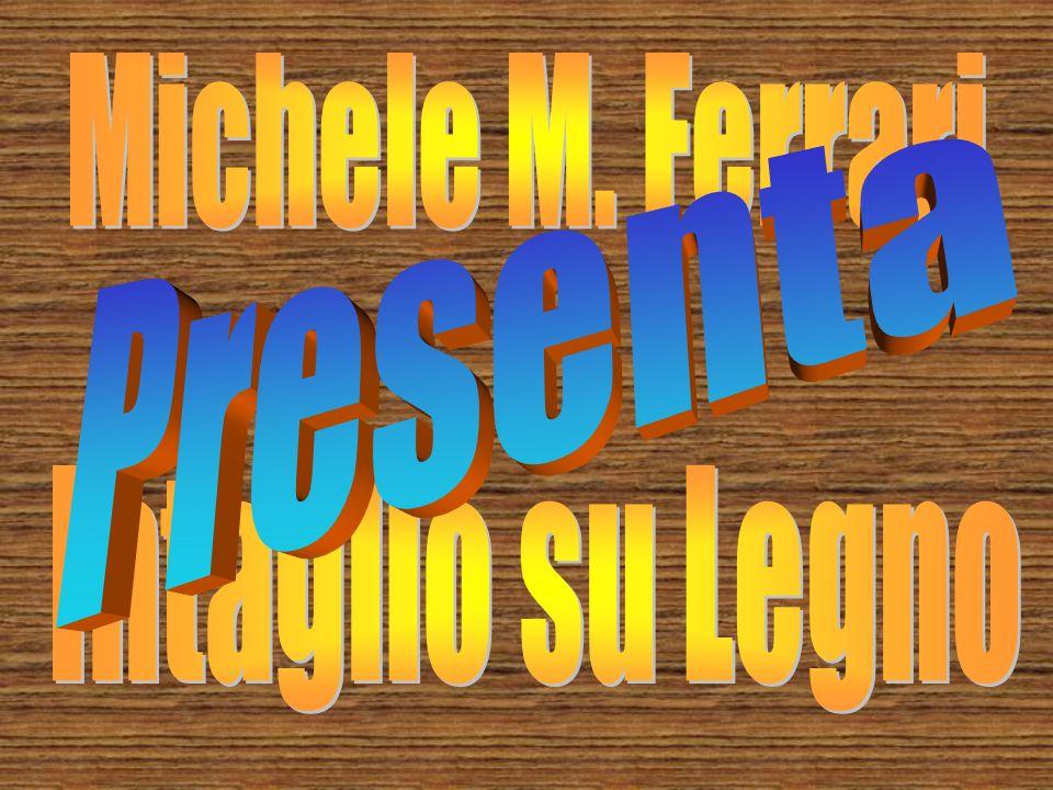 Michele M. Ferrari Presenta Intaglio su Legno
