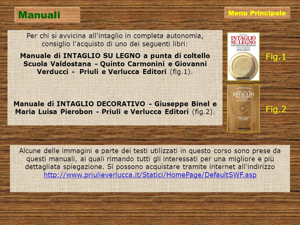Manuali Fig.1 Fig.2 Menu Principale