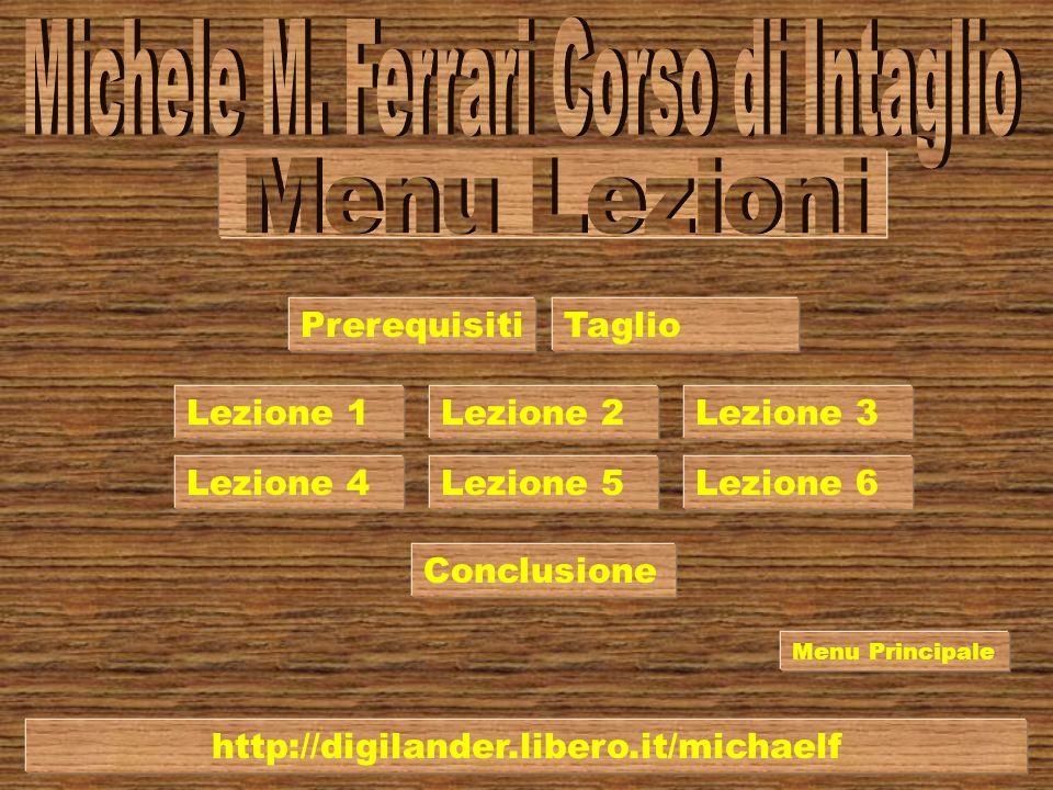 Michele M. Ferrari Corso di Intaglio