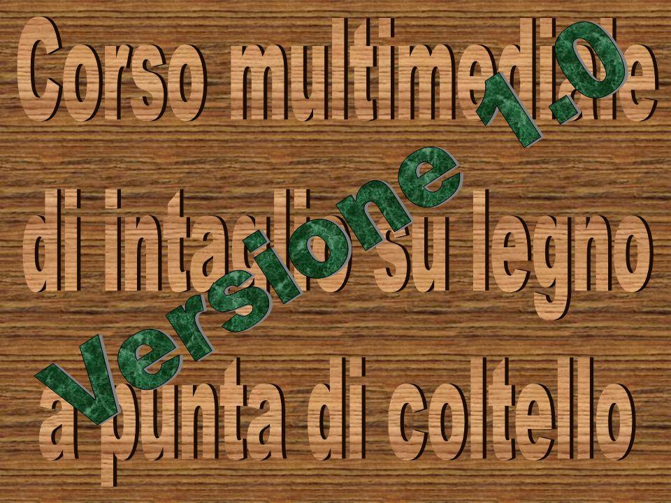 Corso multimediale di intaglio su legno a punta di coltello Versione 1.0